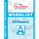 The Talking Dictionary Wordlist and Activator Sticker: Afrikaans