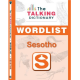 The Talking Dictionary Wordlist and Activator Sticker: Sesotho