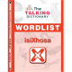 The Talking Dictionary Wordlist and Activator Sticker: isiXhosa